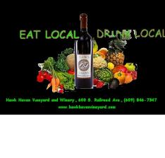 Eat Local Drink Local Concept Image