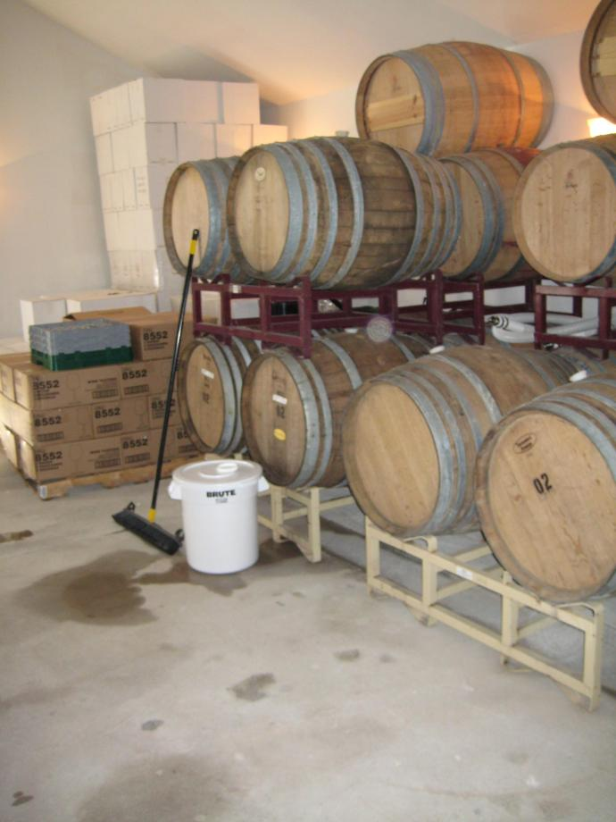 The Barrels that the Chardonnay Used to be in